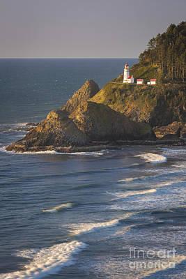 Photograph - Heceta Head Lighthouse by Brian Jannsen