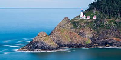 Photograph - Heceta Head Lighthouse by Mark Robert Rogers