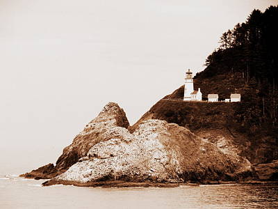 Photograph - Heceta Head Lighthouse by Ramona Johnston