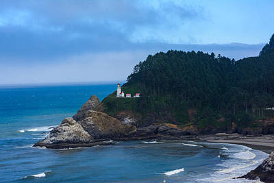 Photograph - Heceta Head Lighthouse by Tikvah's Hope