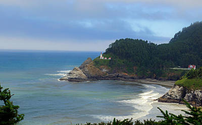 Photograph - Heceta Head by Tikvah's Hope
