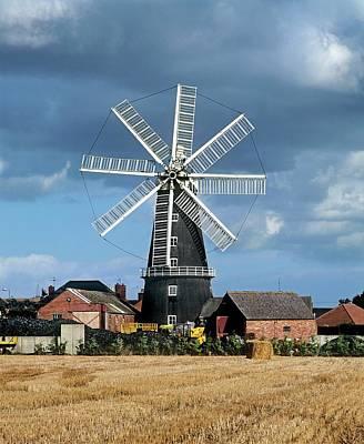 Lincolnshire Photograph - Heckington Windmill by Martin Bond