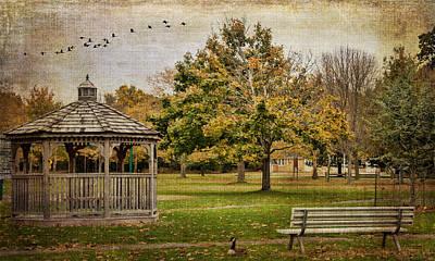 Thomas Kinkade - Hecksher Park by Cathy Kovarik