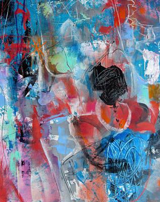 Hectic Print by Katie Black