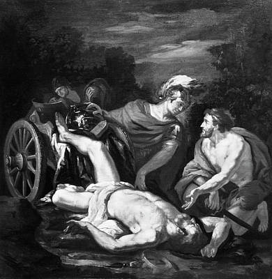 7th Century Painting - Hector And Achilles by Granger