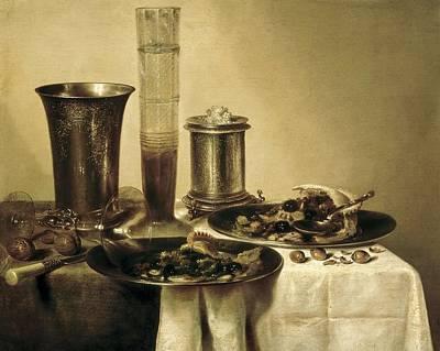 Heda, Willem Claesz 1594-1680. The Art Print by Everett