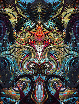 Digital Art - Hedge Backwards 28 by Zac AlleyWalker Lowing