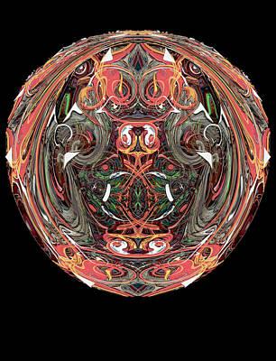 Digital Art - Hedge Backwards 34 by Zac AlleyWalker Lowing