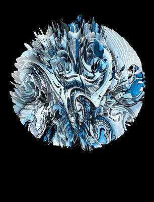 Digital Art - Hedge Backwards 54 by Zac AlleyWalker Lowing