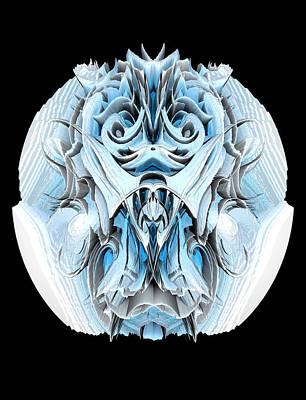 Digital Art - Hedge Backwards 55 by Zac AlleyWalker Lowing