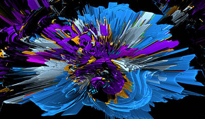 Digital Art - Hedge Backwards 72 by Zac AlleyWalker Lowing