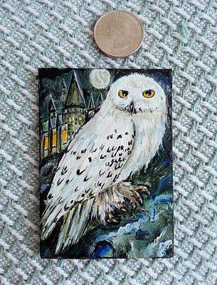 Painting - Hedwig by Steve Ozment