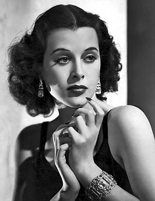 Movie Star Photograph - Hedy Lamarr - Beauty And Brains by Daniel Hagerman