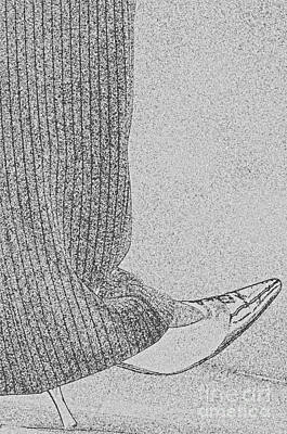 Heel Toe Art Print