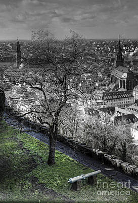 Photograph - Heidelberg From Castle by Morgan Wright