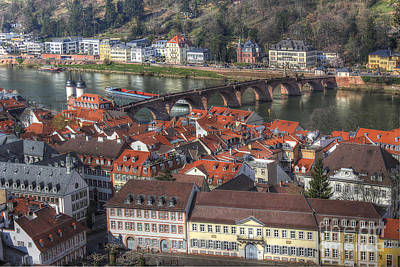 Photograph - Heidelberg Germany 2 by Morgan Wright