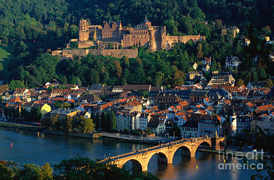 World Destination Photograph - Heidelberg, Germany by Gerhard Pieschel