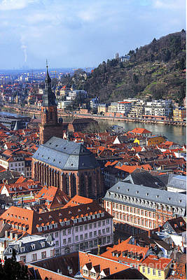 Photograph - Heidelberg Germany by Morgan Wright