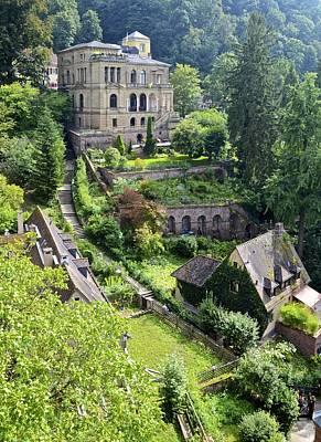 Photograph - Heidelberg Hillside by Corinne Rhode