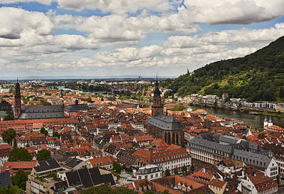 German Photograph - Heidelberg by Marcia Colelli