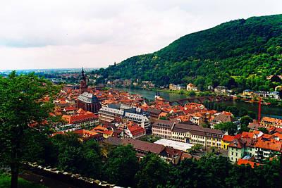 Wall Art - Photograph - Heidelberg Town by Daniel Kleefeld