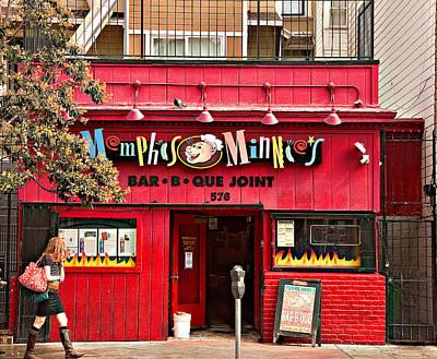 Que Photograph - Height Ashbury Restaurant by Michael Hutsenpiller