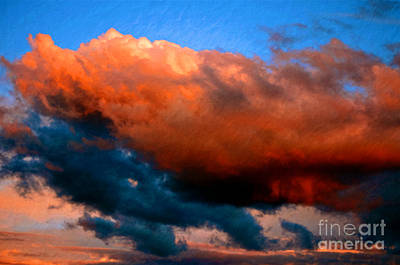 Red Skys Photograph - Heightened Moments by Gwyn Newcombe