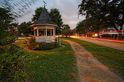 Heights Boulevard Gazebo Art Print