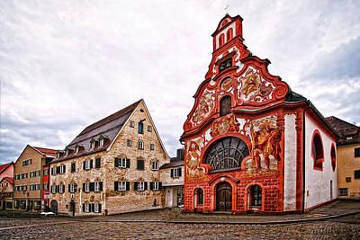 Religious Photograph - Heilig Geist Spitalkirche by Marcia Colelli