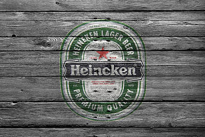 Handcrafts Photograph - Heineken by Joe Hamilton