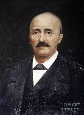 Heinrich Schliemann, German Art Print by RIA Novosti