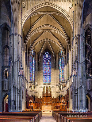Photograph - Heinz Chapel - Pittsburgh Pennsylvania by John Waclo