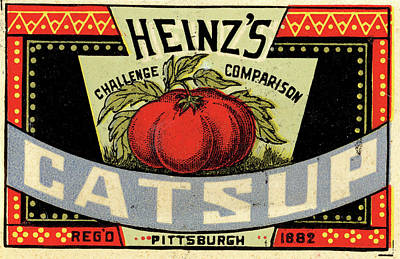 1880s Photograph - Heinz Ketchup by Us National Archives