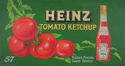 Streetcars Digital Art - Heinz Tomato Ketchup by Woodson Savage