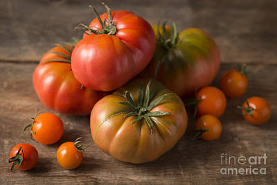 Photograph - Heirloom Tomatoes by Ana V Ramirez