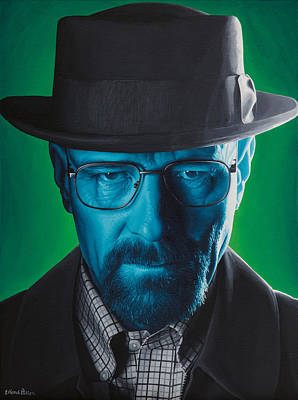 Heisenberg Art Print by Ellen Patton
