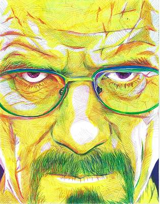 Heisenberg Art Print by Kyle Willis