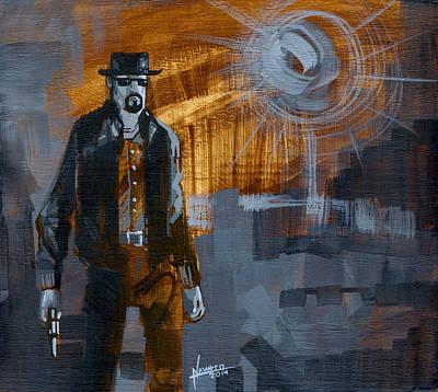 Breaking Bad Painting - Heisenberg by Luis  Navarro
