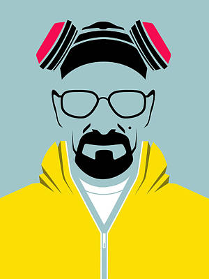 Walter Digital Art - Heisenberg Poster by Naxart Studio