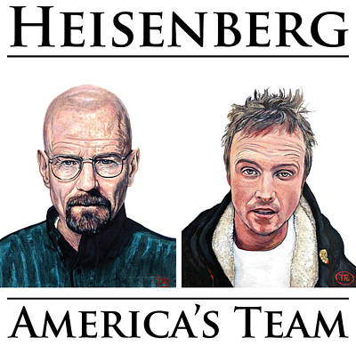 Digital Art - Heisenberg Team by Tom Roderick