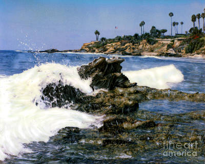 Photograph - Heisler Park Waves Laguna by Glenn McNary