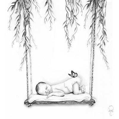 Miscarriage Photograph - Held From Above by Dana Klein