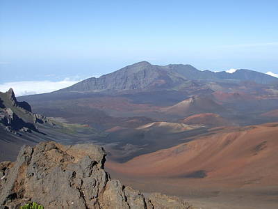 Vulcan Park Photograph - Heleakala Volcano In Maui by Richard Reeve