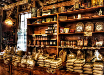 Photograph - Helen Georgia Grist Mill by Greg and Chrystal Mimbs