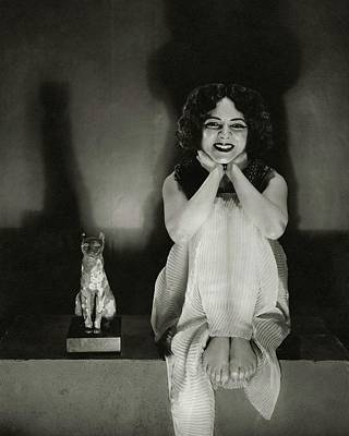 Cleopatra Photograph - Helen Hayes As Cleopatra by Edward Steichen