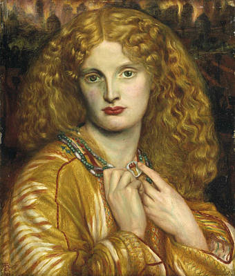 Rossetti Painting - Helen Of Troy by Philip Ralley