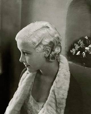 Bedtime Story Photograph - Helen Twelvetrees In Bedtime Story by Edward Steichen