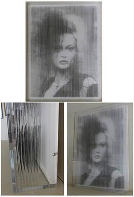 Bellatrix Lestrange Painting - Helena Bonham Carter - Bellatrix Lestange by Jim Stevens