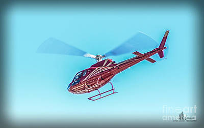Photograph - Helicopter by Ronald Grogan