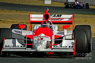Indycar Photograph - Helio by Webb Canepa